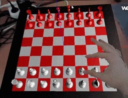Dynamic Simulation of Virtual Objects for Augmented Reality Applications. Development of An Augmented Reality Chess Marios Bikos